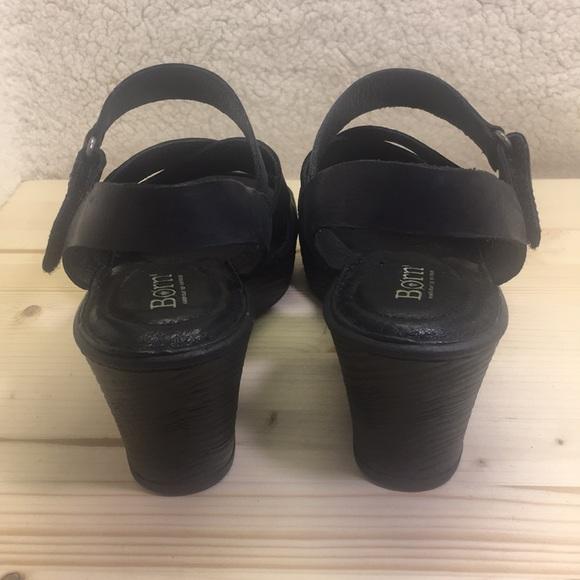 aa496085a94a ... Black Leather Sandals Heels. Born. M 5c9133a4194dadedfbe4f063.  M 5c840098aaa5b8f97797ec18. M 5c84009faa877084766fe587.  M 5c8400a6baebf6a52c0dd4a6